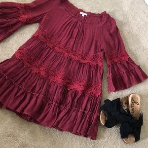 Tunic from Boutique with open lace